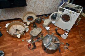 Особенности ремонта подшипника стиральной машины